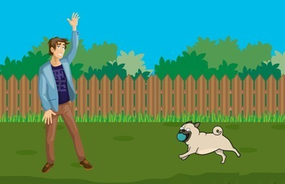 Lose Weight Running Dog